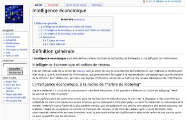 http://www.ie-lobbying.info/wiki/index.php/Intelligence_%C3%A9conomique