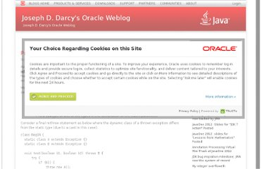 http://blogs.oracle.com/darcy/entry/project_coin_multi_catch_rethrow