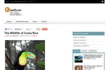 http://www.expatify.com/costa-rica/the-wildlife-of-costa-rica.html