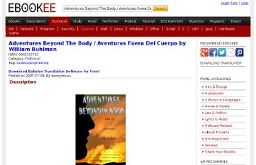 http://ebookee.org/Adventures-Beyond-The-Body-Aventuras-Fuera-Del-Cuerpo-by-William-Buhlman_106723.html