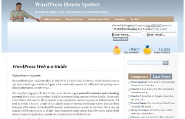 http://www.howtospoter.com/wordpress-web-20-guide