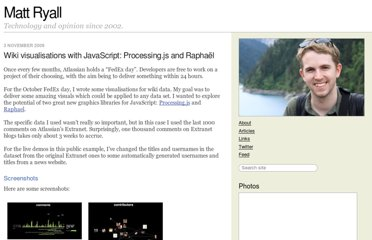 http://mattryall.net/blog/2008/11/wiki-visualisations-with-javascript