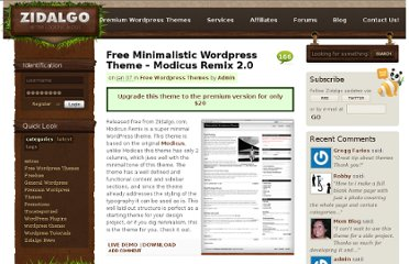 http://www.zidalgo.com/free-wordpress-themes/minimalistic-wordpress-theme-modicus/