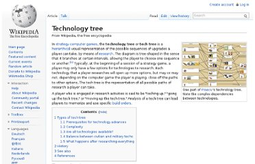 http://en.wikipedia.org/wiki/Technology_tree