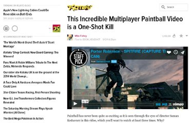 http://kotaku.com/5839718/this-incredible-multiplayer-paintball-video-is-a-one+shot-kill