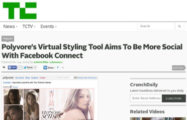 http://techcrunch.com/2009/12/24/polyvores-virtual-styling-tool-aims-to-be-more-social-with-facebook-connect/