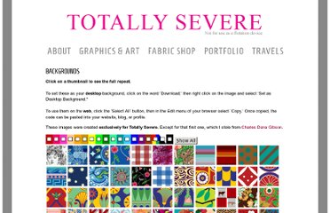 http://www.totallysevere.com/backgrounds/