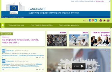 http://ec.europa.eu/languages/index_en.htm