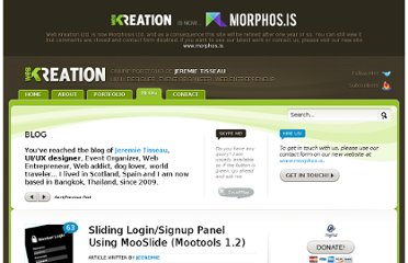 http://web-kreation.com/all/showhide-login-panel-using-mooslide-mootools-1-2/