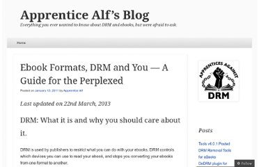 http://apprenticealf.wordpress.com/2011/01/13/ebooks-formats-drm-and-you-%e2%80%94-a-guide-for-the-perplexed/