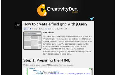 http://blog.creativityden.com/fluid-grid-using-jquery/