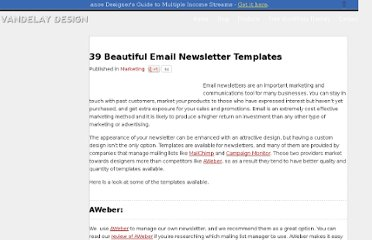 http://vandelaydesign.com/blog/marketing/email-newsletter-templates/