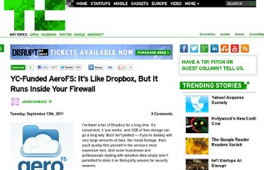 http://techcrunch.com/2011/09/13/yc-funded-aerofs-its-like-dropbox-but-it-runs-inside-your-firewall/