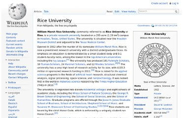 http://en.wikipedia.org/wiki/Rice_University