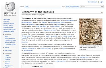 http://en.wikipedia.org/wiki/Economy_of_the_Iroquois