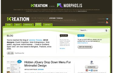 http://web-kreation.com/all/hidden-jquery-drop-down-menu-for-minimalist-design/