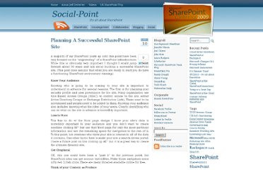http://www.social-point.com/planning-a-successful-sharepoint-site
