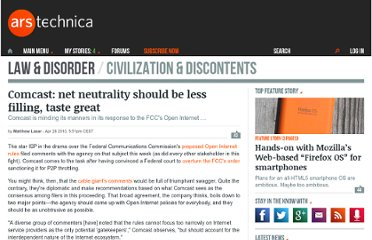 http://arstechnica.com/telecom/news/2010/04/comcast-just-a-little-net-neutrality-for-everybody.ars