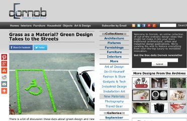 http://dornob.com/grass-as-a-material-green-design-takes-to-the-streets/