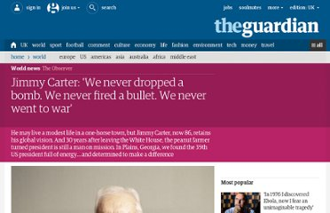 http://www.guardian.co.uk/world/2011/sep/11/president-jimmy-carter-interview