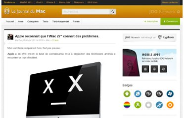 http://www.journaldumac.com/2010/02/09/apple-reconnait-imac-27-problemes/