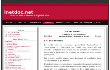 http://www.inetdoc.net/guides/tutoriel-secu/tutoriel.securite.dissimulation.rootkit.html