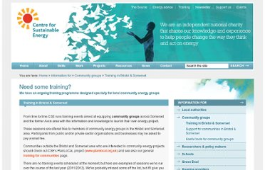 http://www.cse.org.uk/pages/information/community-groups/energy-training-for-bristol-somerset-communities