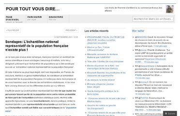 http://bibifa.wordpress.com/2011/09/14/sondages-lchantillon-national-reprsentatif-de-la-population-franaise-nexiste-plus/