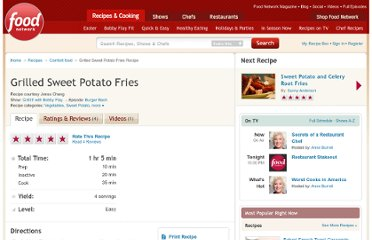 http://www.foodnetwork.com/recipes/grilled-sweet-potato-fries-recipe2/index.html
