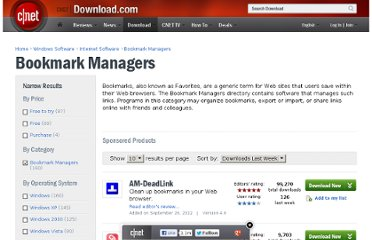 http://download.cnet.com/windows/bookmark-managers/