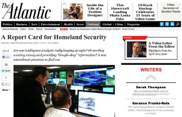 http://www.theatlantic.com/national/archive/2011/09/a-report-card-for-homeland-security/245057/