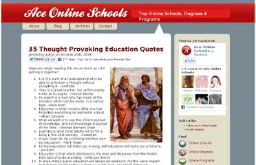 http://www.aceonlineschools.com/35-thought-provoking-education-quotes/