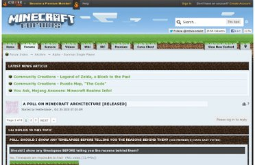 http://www.minecraftforum.net/topic/61527-a-poll-on-minecraft-architecture-released/