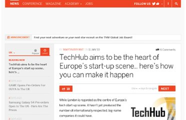 http://thenextweb.com/uk/2010/01/11/techhub-aims-heart-europes-startup-scene/#