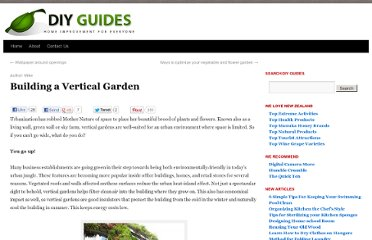 http://www.diy-guides.com/how-to-build-a-vertical-garden/