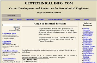http://www.geotechnicalinfo.com/angle_of_internal_friction.html