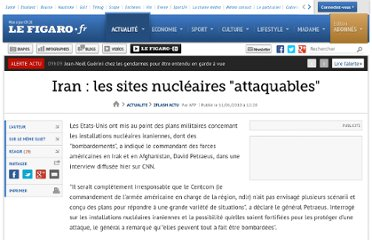 http://www.lefigaro.fr/flash-actu/2010/01/11/01011-20100111FILWWW00444-iran-les-sites-nucleaires-attaquables.php