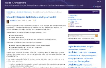 http://blogs.msdn.com/b/nickmalik/archive/2006/10/29/should-enterprise-architecture-rock-your-world.aspx