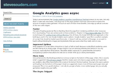 http://www.stevesouders.com/blog/2009/12/01/google-analytics-goes-async/