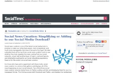 http://socialtimes.com/social-news-curation-simplifying-or-adding-to-our-social-media-overload_b21641