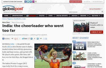 http://www.globalpost.com/dispatch/news/regions/asia-pacific/india/110513/india-cricket-cheerleaders-indian-premier-league