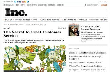http://www.inc.com/magazine/20110301/the-secret-to-great-customer-service.html