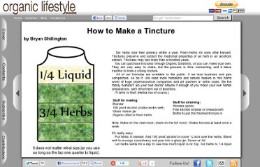 http://www.organiclifestylemagazine.com/issue-7/how-to-make-a-tincture.php