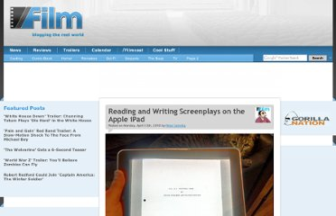 http://www.slashfilm.com/reading-and-writing-screenplays-on-the-apple-ipad/