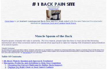 http://www.1backpain.com/backmusclespasm.htm