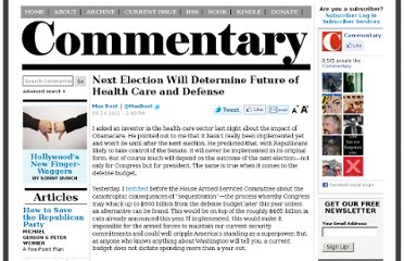 http://www.commentarymagazine.com/2011/09/14/2012-election-health-care-defense/