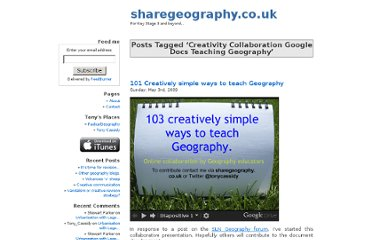 http://sharegeography.co.uk/tag/creativity-collaboration-google-docs-teaching-geography/