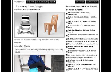 http://www.toxel.com/inspiration/2011/09/15/15-amazing-chair-designs/