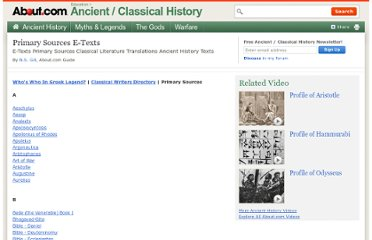 http://ancienthistory.about.com/od/researchreference/a/102110-Primary-Sources-E-Texts.htm