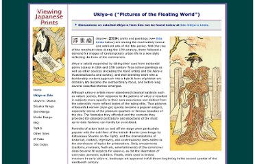 http://www.viewingjapaneseprints.net/texts/ukiyoetexts/ukiyoe_intro.html